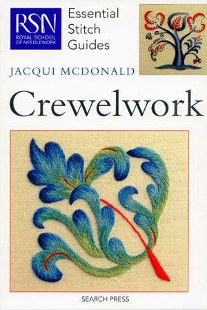 Essential Stitch Guides - Crewelwork (Book)