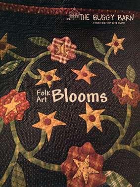 Folk Art Blooms - The Buggy Barn (Book)