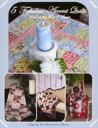5 Fabulous Accent Quilts by Terri Staats (Book)