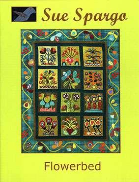 Flowerbed by Sue Spargo (Book)