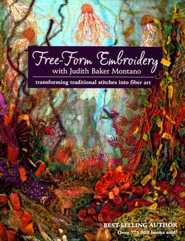 Free-Form Embroidery with Judith Baker Montano (Book)