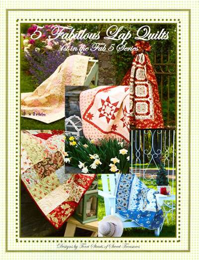 5 Fabulous Lap Quilts by Terri Staats (Book)