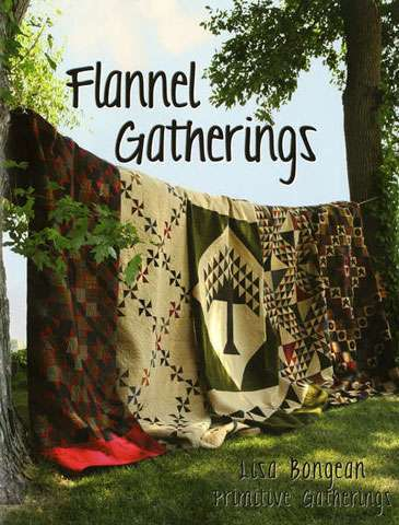 Flannel Gatherings by Lisa Bongean (Book)