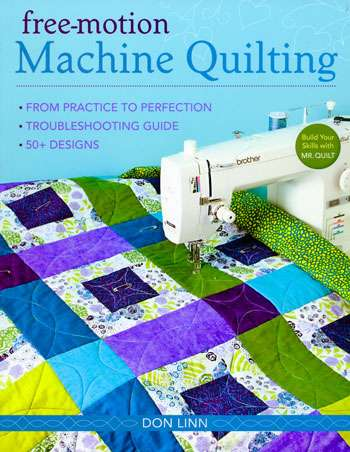 Free-Motion Machine Quilting by Don Linn (Book)