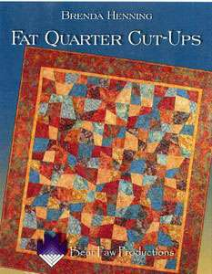 Fat Quarter Cut-Ups by Brenda Henning (Book)