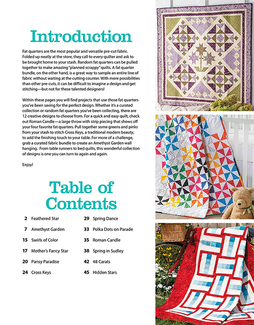 Fat Quarter-Friendly Quilts by Annie's Quilting preview