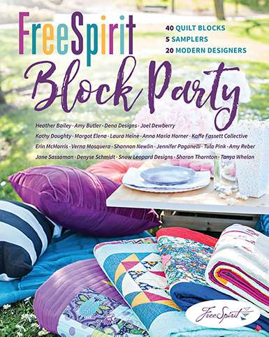 Free Spirit Block Party (Book) preview