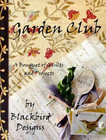 Garden Club - Blackbird Design (Book)