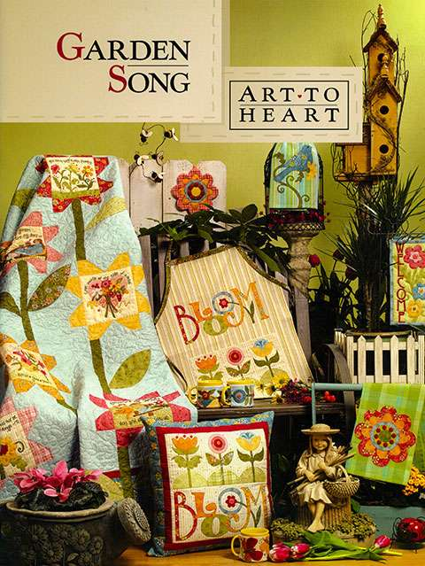 Garden Song by Art To Heart (Book)