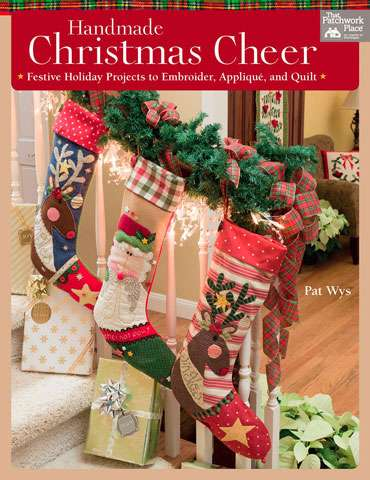 Handmade Christmas Cheer by Pat Wys (Book SPECIAL was $54.60)