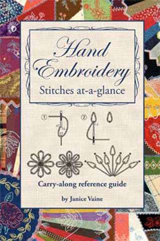 Hand Embroidery Stitches at-a-glance by Janice Vaine (Book)