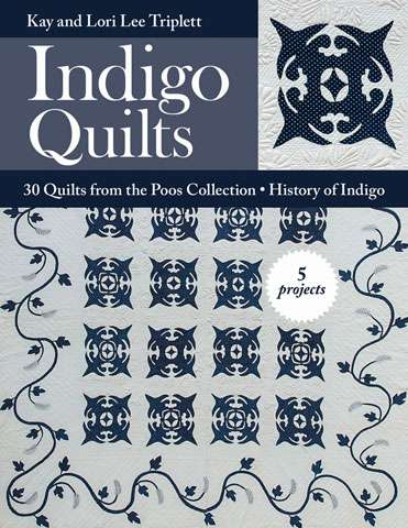 Indigo Quilts by Kay and Lori Lee Triplett (Book)