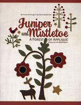 Juniper and Mistletoe by Karla Menaugh & Barbara Brackman