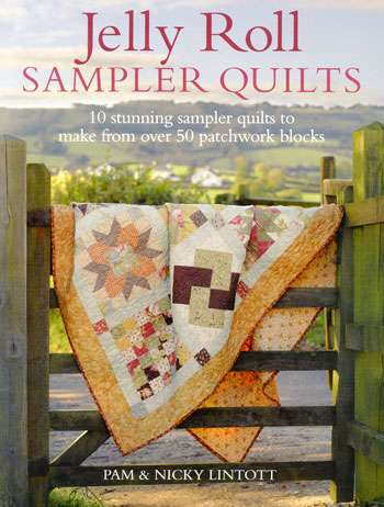Jelly Roll Sampler Quilts by Pam & Nancy Lintott (Book) preview