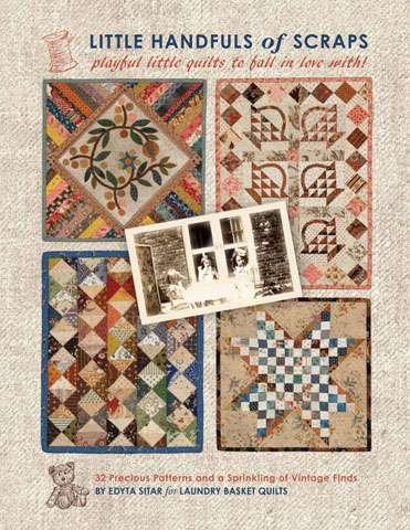 Little Handfuls of Scraps by Edyta Sitar (Book)