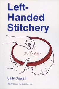 Left-Handed Stitchery by Sally Cowan (Book)