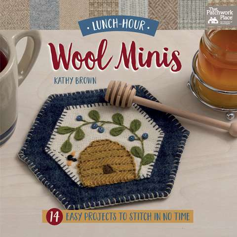 Lunch Hour Wool Minis by Kathry Brown (Book)