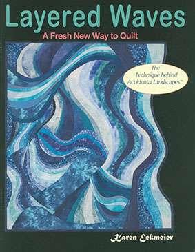 Layered Waves by Karen Eckmeier (Book)