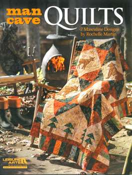 Man Cave Quilts by Rochelle Martin (Book)