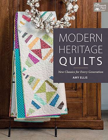 Modern Heritage Quilts by Amy Ellis (Book)