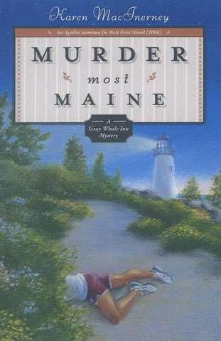 Murder Most Maine by Karen MacInerney (Book)