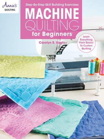Machine Quilting for Beginners by Carolyn S. Vogts (Book)