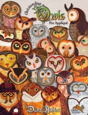Outstanding Owls for Applique by Darcy Ashton (Book)