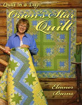Orion's Star Quilt by Eleanor Burns (Book) preview
