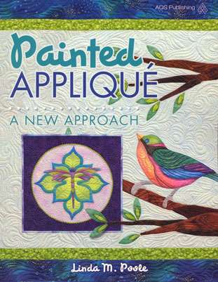 Painted Applique - A New Approach by Linda M. Poole (Book)