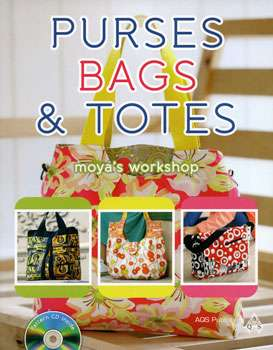 Purses, Bags & Totes by Moya's Workshop (Book)