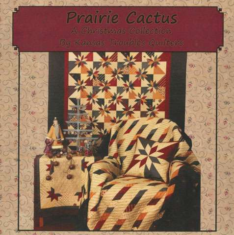 Prairie Cactus by Kansas Trouble Quilters (Book)