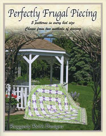 Perfectly Frugal Piecing by Ruth Grihalva (Book)