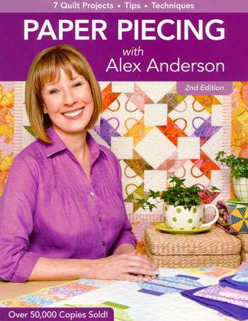 Paper Piecing with Alex Anderson (Book) preview