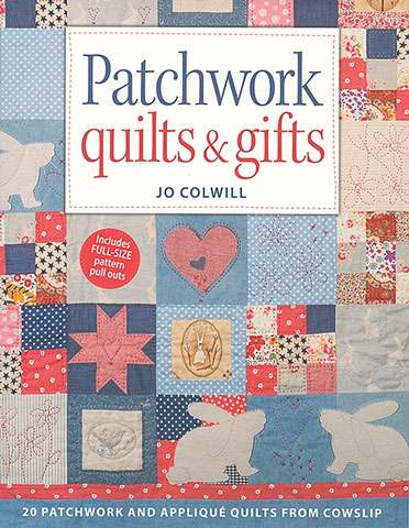 Patchwork Quilts and Gifts by Jo Colwill (Book)