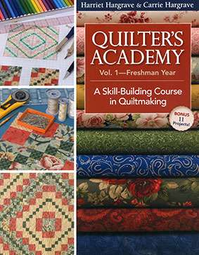 Quilter's Academy Vol 1 - Freshman Year (Book)