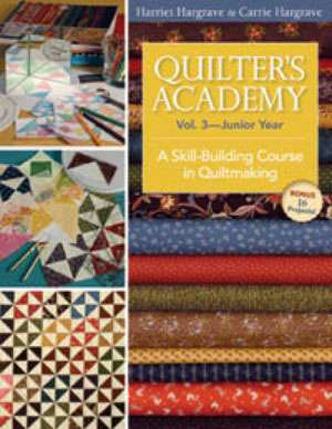 Quilter's Academy Vol 3 - Junior Year (Book)