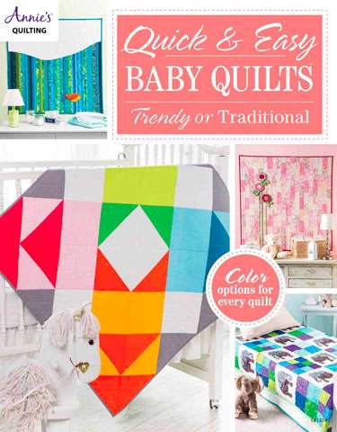 Quick and Easy Baby Quilts - Trendy or Traditional (Book)