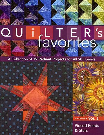Quilter's Favorites - Vol. 2, Pieced Points & Stars (Book)