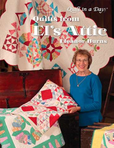 Quilts from El's Attic by Eleanor Burns (Book)