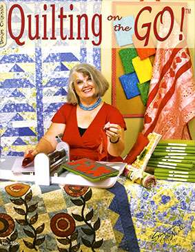 Quilting on the Go! by Suzanne McNeill (Book)