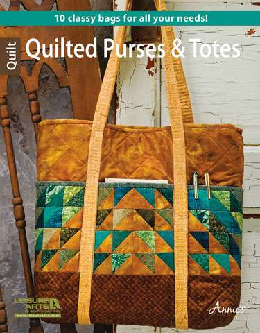 Quilted Purses and Totes - Leisure Arts (Book)