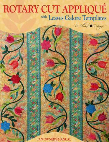 Rotary Cut Applique with Leaves Galore Templates (Book)