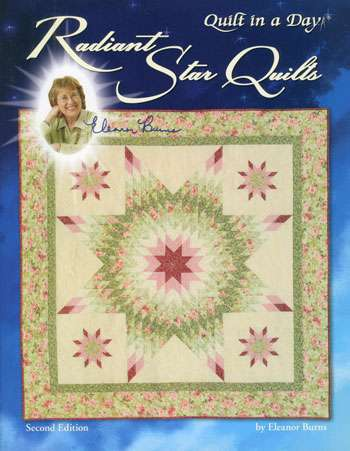 Radiant Star Quilts by Eleanor Burns (Book)