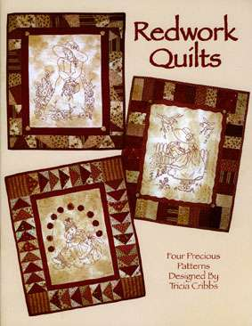 Redwork Quilts by Tricia Cribbs (Book)