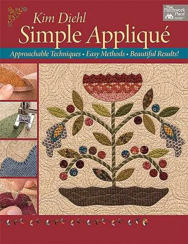 Simple Applique by Kim Diehl (Book)