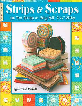 Strips & Scraps by Suzanne McNeill (Book)
