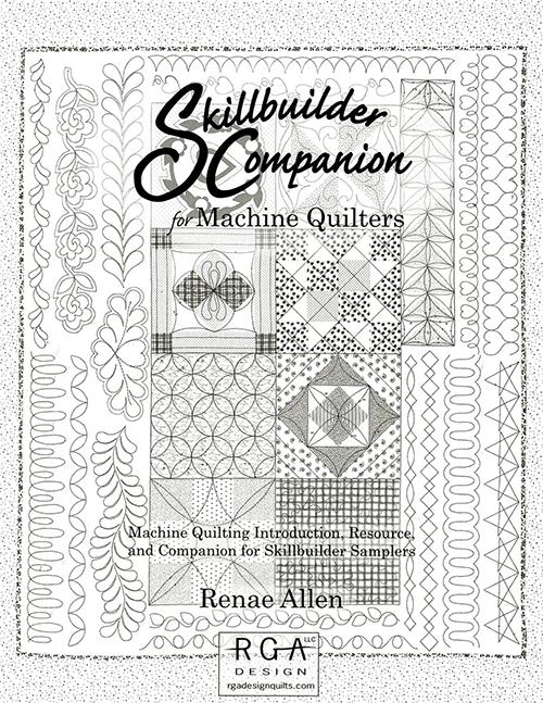 Skillbuilder Companion for Machine Quilting by Renae Allen preview