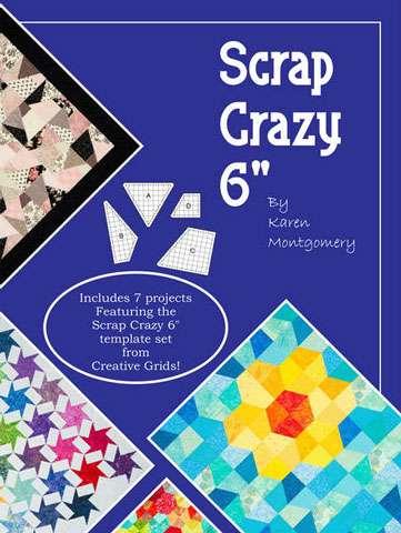 """Scrap Crazy 6"""" by Karen Montgomery (Book)"""