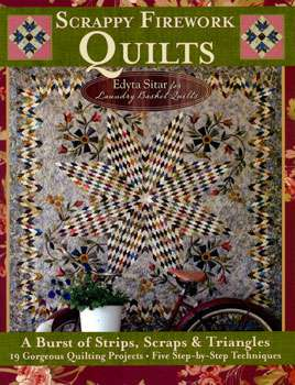 Scrappy Firework Quilts by Edyta Sitar (Book SPECIAL was $48.90) preview
