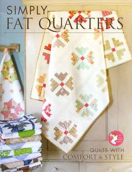Simply Fat Quarters by It's Sew Emma Patterns (Book)